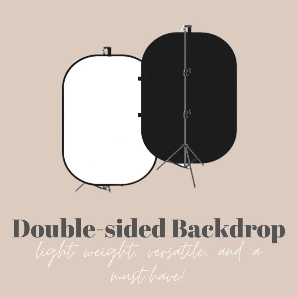 Double-sided Backdrop Image
