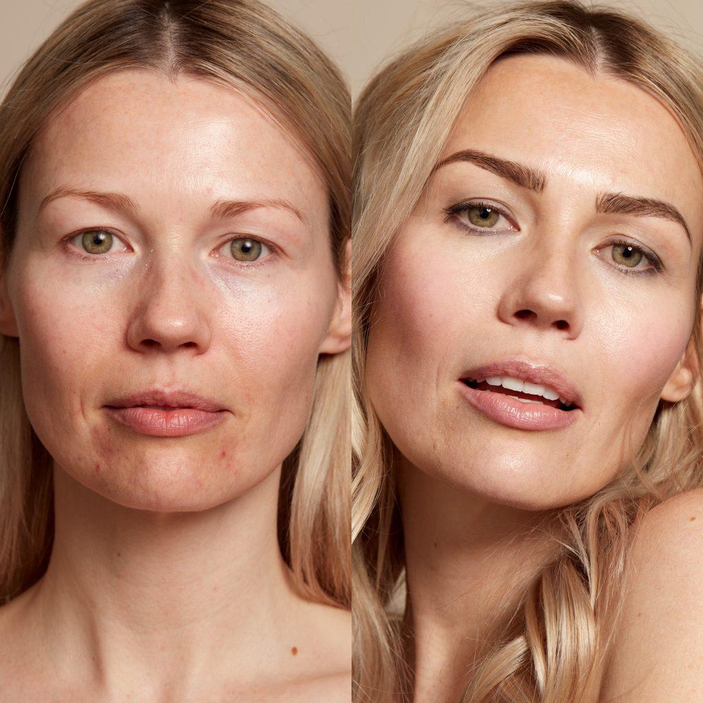 Model in Demi Colour makeup by Seint