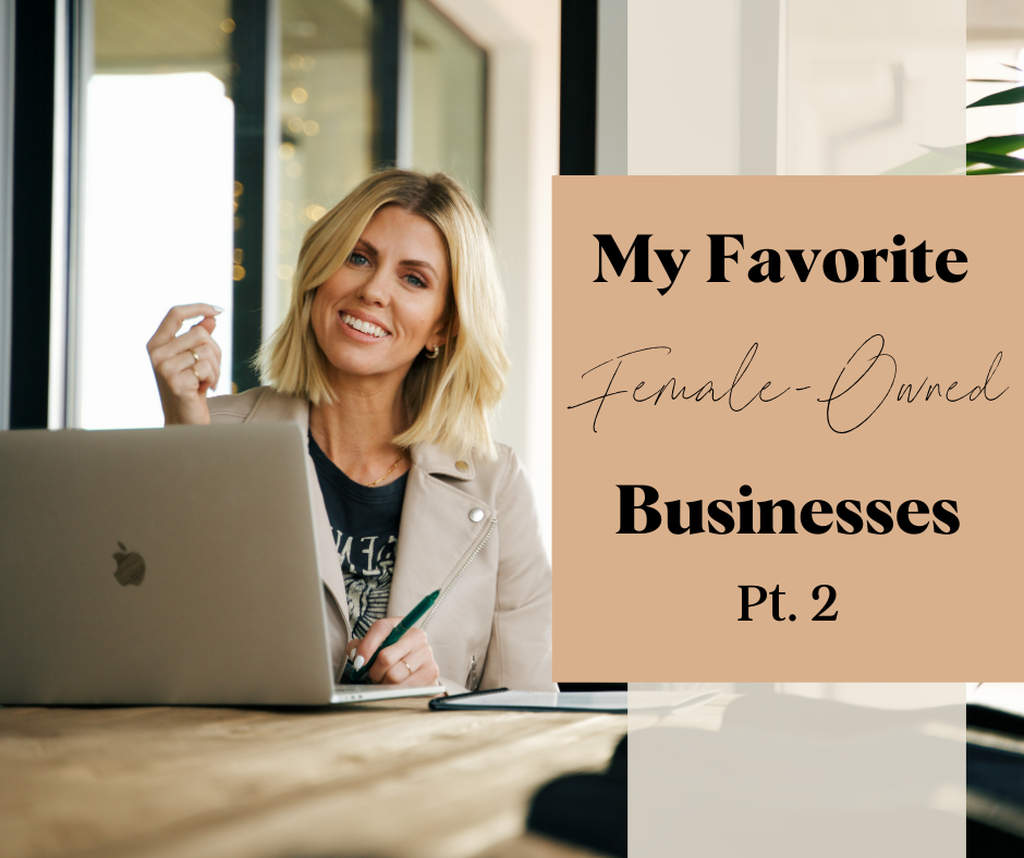 Female Owned Businesses part 2 Blog cover photo