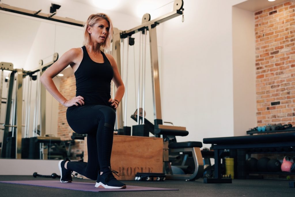Exercise to cope with anxiety