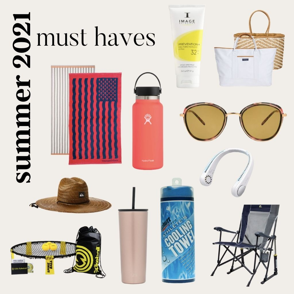 Cover photo for Summer 2021 Must Haves blog post